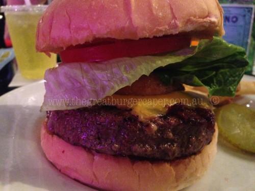 Hard Rockin' Burger